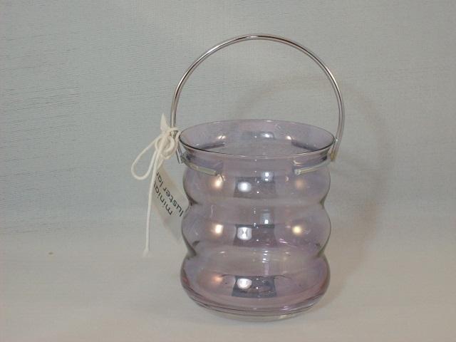 Martha Stewart Everyday Lavender Miniature Luster Lantern - New With Tag!