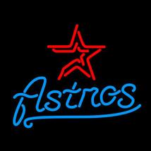 MLB Houston Astros Baseball Beer Bar Neon Light Sign 15'' x 14'' - $599.00