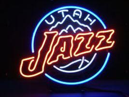 "NBA Utah Jazz Basketball Beer Bar Neon Light Sign 15'' x 15"" - $599.00"