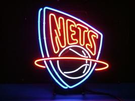 NBA Brooklyn New Jersey Nets Beer Bar Neon Light Sign 15'' x 13'' - $599.00