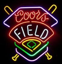 """Coors Field Baseball Beer Bar Neon Light Sign 16'' x 15"""" - $599.00"""