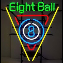 Snooker Pool Billiards 8 Ball Beer Bar Neon Light Sign 16'' x 15'' - $599.00