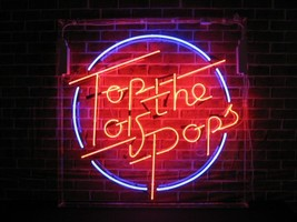 TOTP Top Of The Pops Dance Beer Bar Neon Light Sign 16'' x 15'' - $599.00