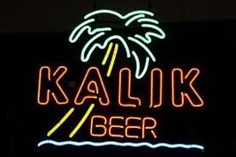 Kalik Palm Tree Beer Bar Neon Light Sign 16'' x 14'' - $599.00