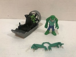 Imaginext Croc Figure With Swamp Boat And Chains FREE Shipping! - $11.87