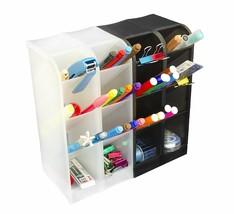 Office Desk Organizer Student Teacher Supplies Rack Holder Storage Stand... - $28.16