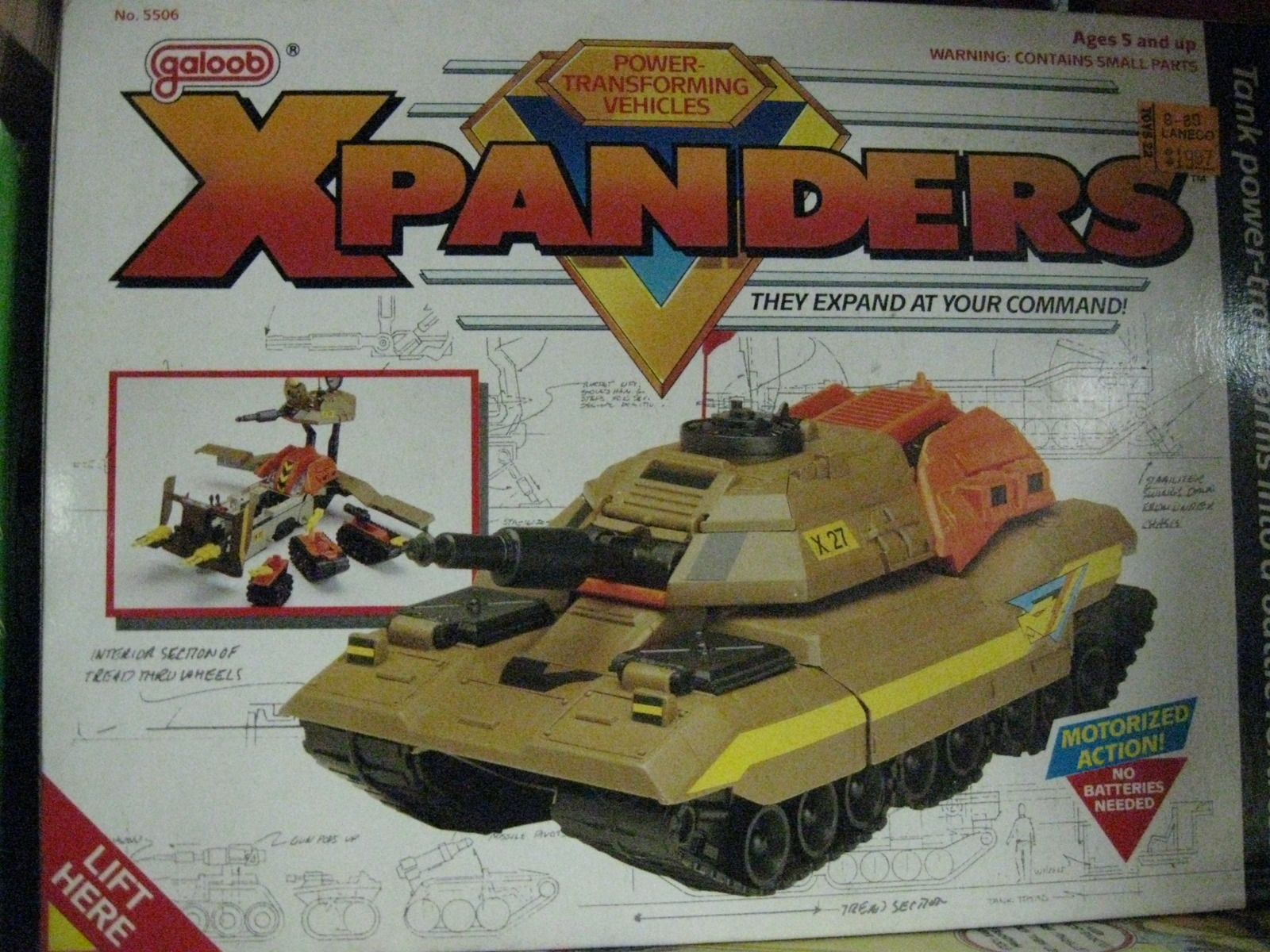 Galoob Xpanders Powerful Transforming And 50 Similar Items