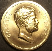 Gem Unc James Monroe Presidential Bronze Inauguration Medallion~Free Shipping