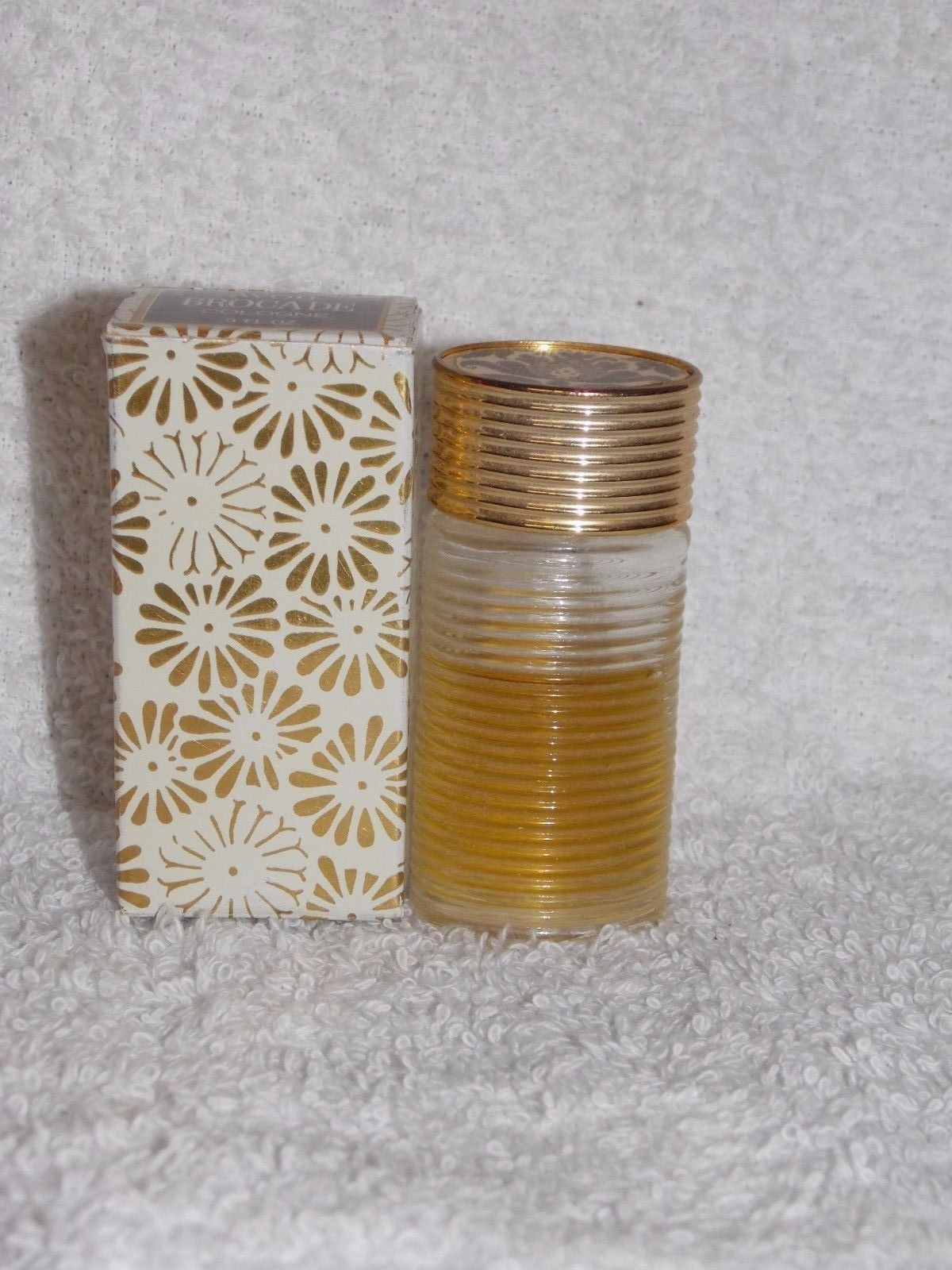 Primary image for Avon BROCADE Cologne Splash For Women .5 oz/ Used Mini Bottle 70% Full Bottle