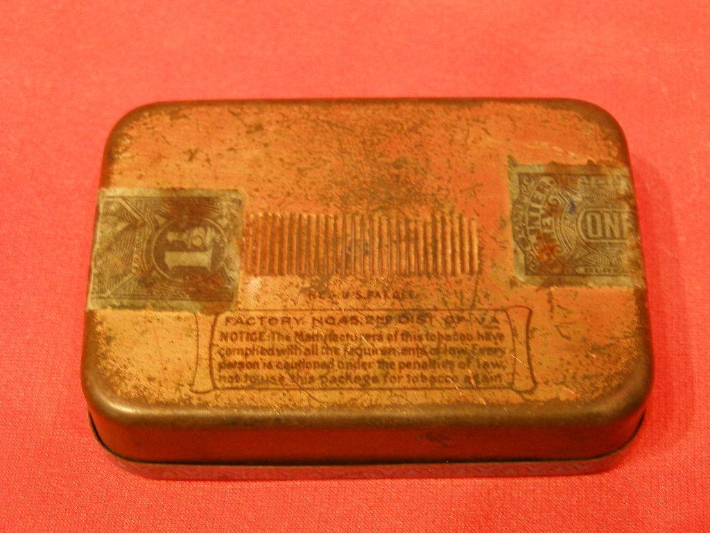 SMALL EDGEWORTH PLUG SLICE TOBACCO TIN - (SKU# 1904)