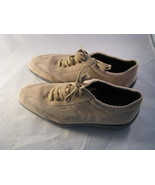 Geox Respira Tan Suede Leather Fashion Sneakers Size EUR 37 US 7.5  - $19.79