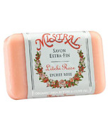 Mistral Classsic French Soap Lychee Rose 7oz - $11.25