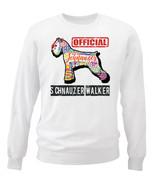 Schnauzer - official walker c - NEW WHITE COTTON SWEATSHIRT - $30.65