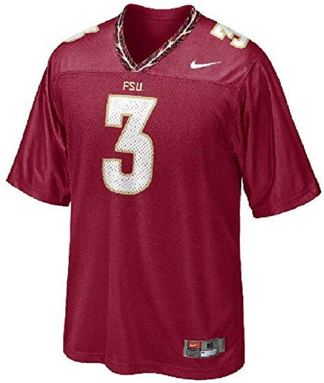 NIKE Florida State Seminoles NCAA #3 Large 16/18 Youth Football Jersey NEW - $45.97