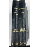Ernest Hemingway A Farewell To Arms, For Whom The Bell Tolls - $54.56