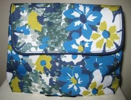 NWOT Estee Lauder Beautiful Blue Floral Makeup ... - $11.69