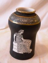 Rare Antique Frank Beardmore England Fine Basaltine Porcelain Vase - $57.99