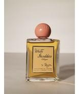 Vintage WHITE SHOULDERS Cologne Evyan Perfume Glass Bottle 1oz RARE Pink... - $49.49