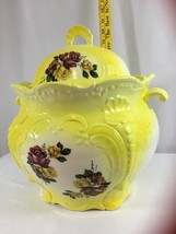Vintage Bright Floral Covered Soup Tureen  - $174.22