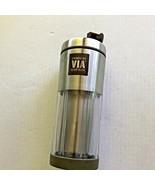 Starbucks VIA Ready Brew Stainless Steel Travel Tumbler Mug 10 oz 2009 - $7.99