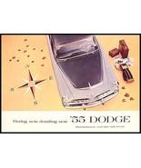 1955 Dodge Brochure- Custom, Royal, Coronet - $10.51