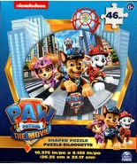 Nickelodeon Paw Patrol The Movie - 46 Shaped Puzzle - $9.89