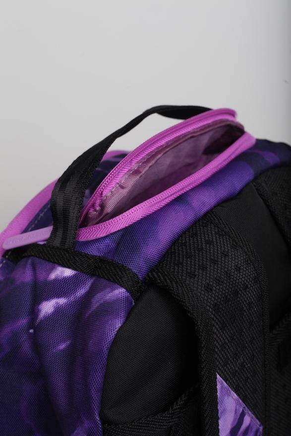 Sprayground Weed Tie Dye Backpack Purple