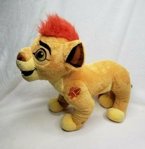 Disney Lion Guard Kion Plush Stuffed Talking Lion ~Works Great~ - $19.80