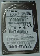 "New 60GB SATA MK6037GSX 2.5"" 9.5MM Drive Toshiba HDD2D63 Free USA Shipping"