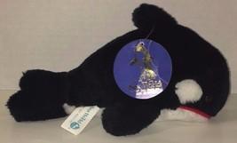 "Sea world Shamu Orca Killer Whale black white 1987 vintage plush w/ tag 8"" - $9.89"
