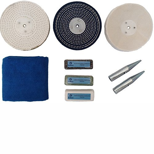 Purui 6 Quot Stainless Steel Polishing Buffing Kit Use On