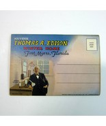 Vintage 1948 Fold-Out Postcard FORT MYERS FL Edison's Home Views - Teich... - $9.99