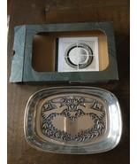 "Wilton Armetale ""Lovebirds"" Tray #551614 - New In Original Box  9.5"" x 6.5"" - $14.01"