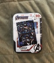 Cardinal Marvel Avengers Endgame 50pc Puzzle in Collectible Tin - $4.99
