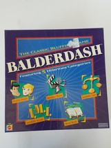 Balderdash The Classic Bluffing Game by Mattel B9176 - $21.82