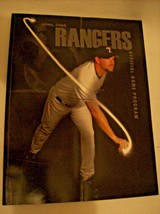2006 TEXAS RANGERS OFFICIAL PROGRAM MILLWOOD  COVER HAS A CREASE GUC - $12.28