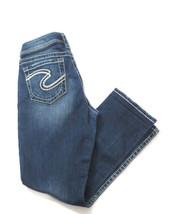 Silver Jeans Women's Natsuki Capri W29 Denim - $29.92