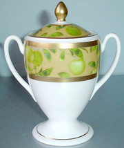 Waterford China Golden Apple Sugar Bowl Footed New In Box - $84.90