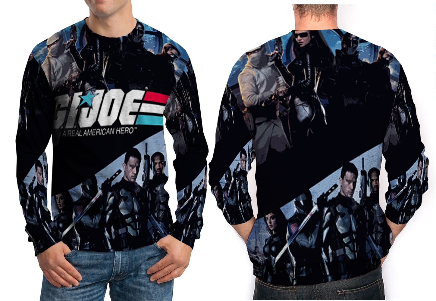 Primary image for G.I. Joe 3D Print Sweatshirt For Men
