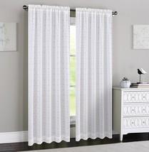 Urbanest Madeline Set of 2 Sheer Curtain Panels - $24.74+