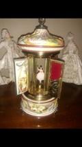 Vintage Reuge Dancing Ballerina Music Box Lipstick & Cigarette Holder Italy - $391.05