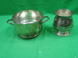 Vintage Lot of Two (2) William Rogers Silver Plated on Copper Bowl Dishes  - $23.33