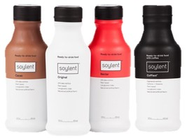 Soylent Trial Bundle (Coffiest/Original/Cacao/Nectar) - 4 Bottles - $27.98
