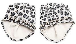 Women Gloves Dance Punk Photography Rivets Fingerless Gloves Leopard Color - £9.40 GBP