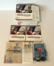 Dragon Naturally Speaking Professional Software Version 4 with CD Books ... - $29.99