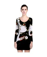 Anime Tokyo Ghoul Kaneki Long Sleeve Bodycon Dress - $19.99+