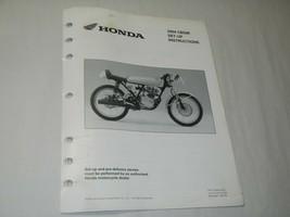dealership Dealer service Setup set-up manual 2004 Honda CB50R Dream 50R CB 50 R - $285.05