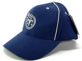"Tennessee Titans NFL Navy Logo Adjustable ""Tonal"" Ball Cap by NFL Apparel - $19.99"