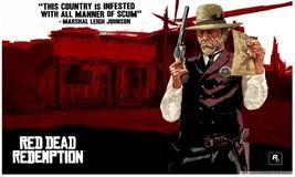 Red Dead Redemption Poster 9 Print on Huge Silk... - $15.99