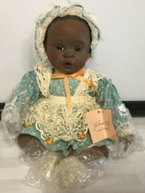 """1991 Porcelain Baby Doll """"DANIELLE"""" By Yolanda Bello For Knowles China Co. - $49.45"""